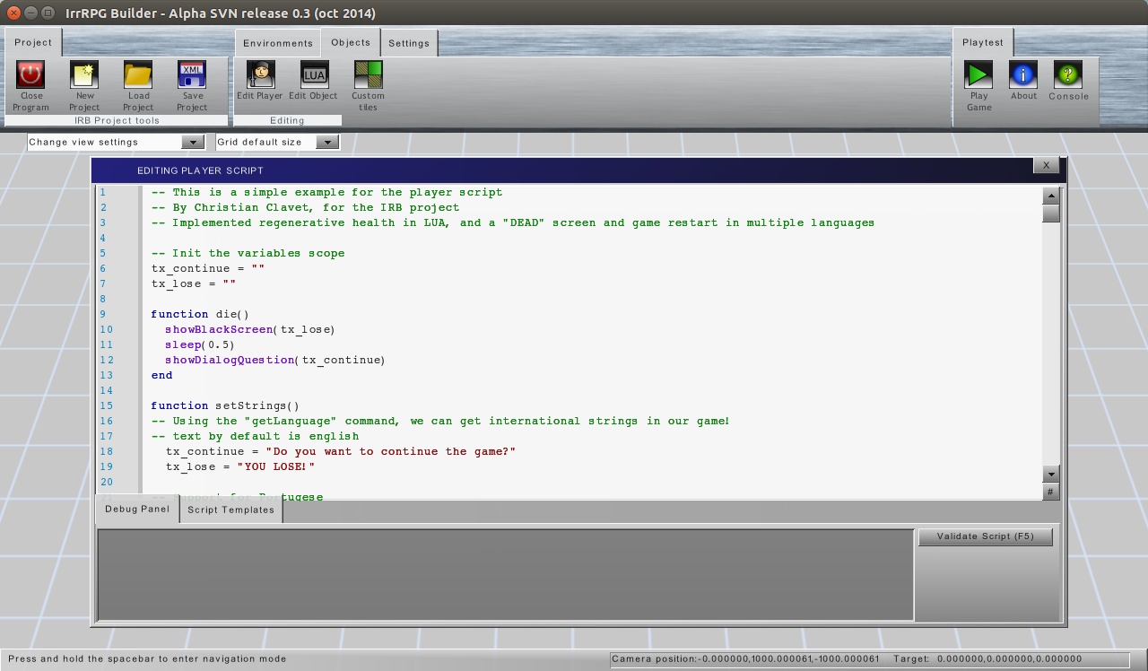 Irrlicht Engine • View topic - Code Editor GUI Component
